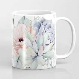 Pretty Succulents by Nature Magick Coffee Mug