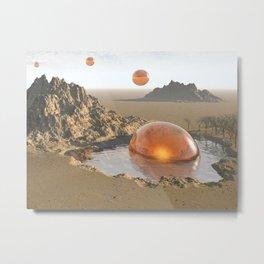 Watering Hole Metal Print