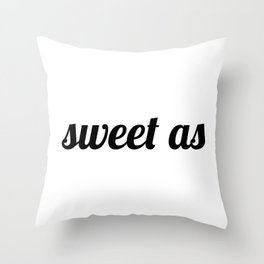 Sweet As New-Zealand Throw Pillow
