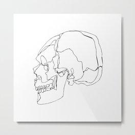 Cranial Bones Metal Print
