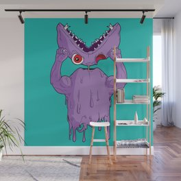 Monster Facelift Wall Mural