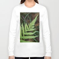 fern Long Sleeve T-shirts featuring Fern by Todd Langland
