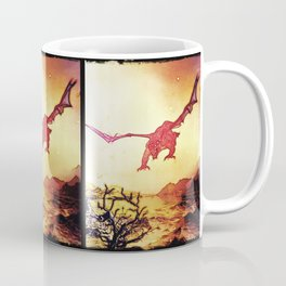 dragon attack Coffee Mug