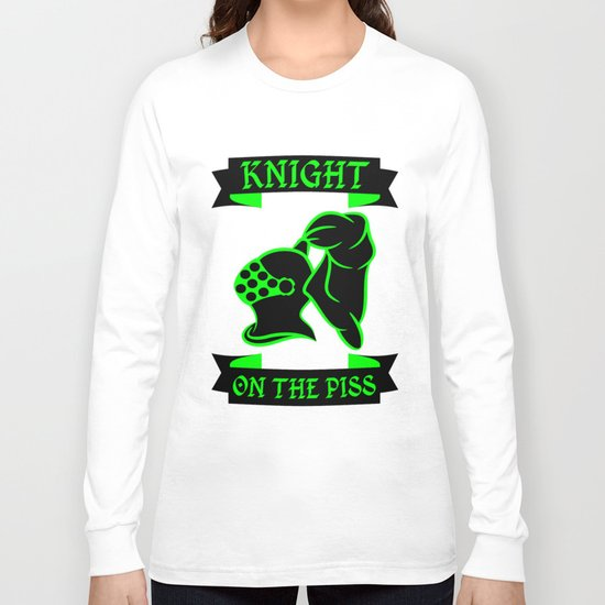Stag Knight on the Piss Long Sleeve T-shirt
