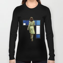 Woman In The City Long Sleeve T-shirt