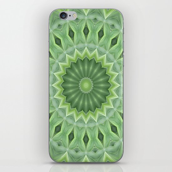 Green Beauty iPhone & iPod Skin