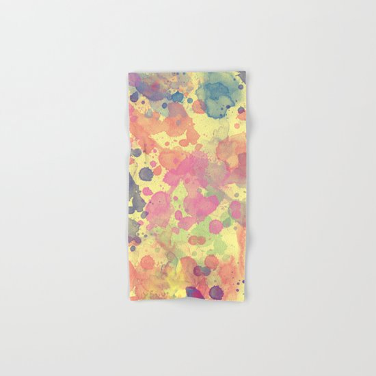 Color Splash Hand & Bath Towel