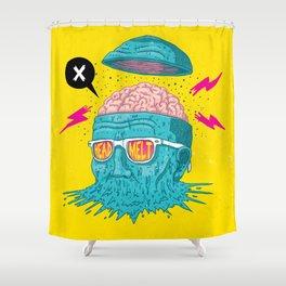 Head Melt Shower Curtain