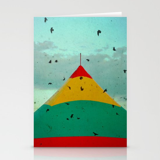 Circus Birds Stationery Cards
