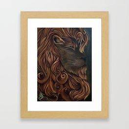 JujuLion Framed Art Print