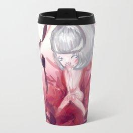 Poppy Girl Travel Mug