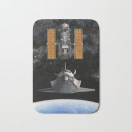 Hubble Rendezvous Bath Mat