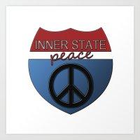 Inner State Art Print