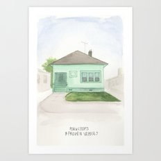 006.  Art Print