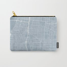 Memphis Map, USA - Slate Carry-All Pouch