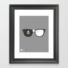 The Smartest Pirate Framed Art Print