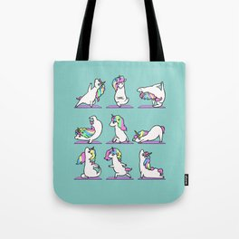 Unicorn Yoga Tote Bag