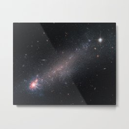Hubble Space Telescope - Starbirth with a chance of winds? Metal Print