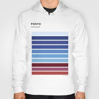 ponyo Hoodies featuring The colors of - Ponyo by hyos