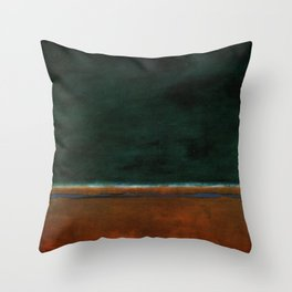 1953 Green and Maroon HD Throw Pillow