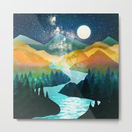 Under the Starlight Metal Print