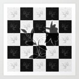 Flower power (power of evil) Art Print