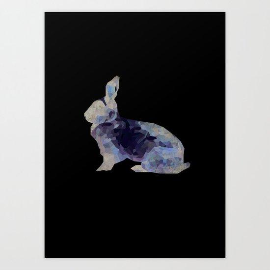 Animal Slang - Rabbit Art Print