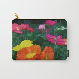 Poppies Two Carry-All Pouch