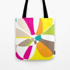 abstract summer mushrooms Tote Bag