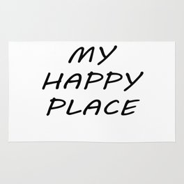 My Happy Place Rug