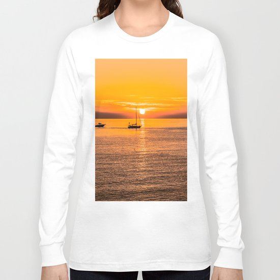 Finish of the day Long Sleeve T-shirt