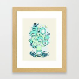 Many Heads are Better than None Framed Art Print