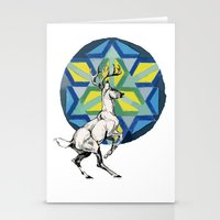 stag Stationery Cards featuring STAG by The Traveling Catburys