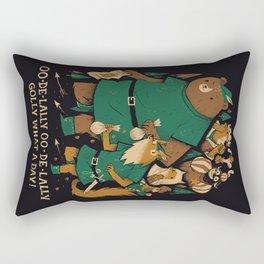 oo-de-lally Rectangular Pillow