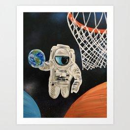 Space Games Art Print