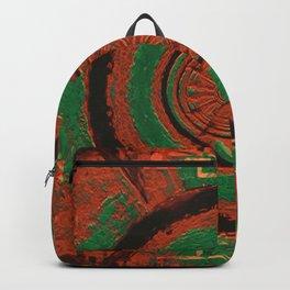 Orange Plate Backpack