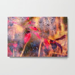 Concept nature : Autumn rain Metal Print