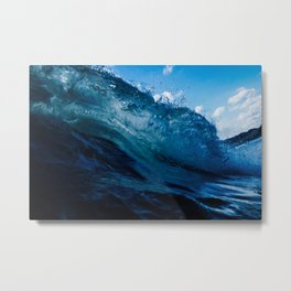 Crashing the Party Metal Print