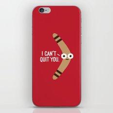 Boomerangst iPhone & iPod Skin