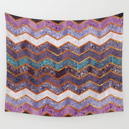 Glitter Waves Wall Tapestry
