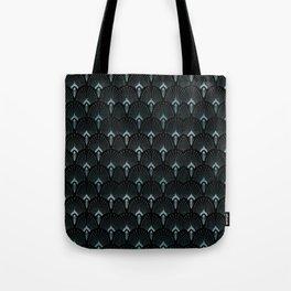 Teal Art Deco,art nouveau pattern, art deco black teal pattern, chic,elegant,great Gatsby,belle epoq Tote Bag