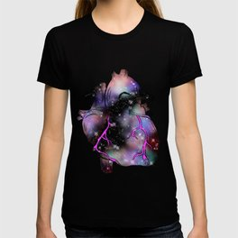 Galaxy Heart T-shirt