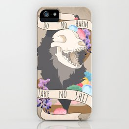 Do No Harm - Take No S#!T iPhone Case
