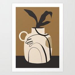 Vase 8 Art Print
