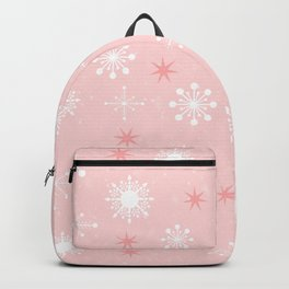 AFE Pink Snowflakes Backpack