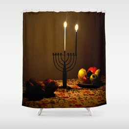First Candle Shower Curtain