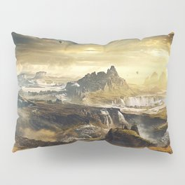 Life into the Valley Pillow Sham