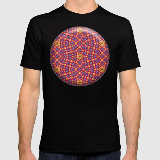 Country Festival Pattern T-shirt