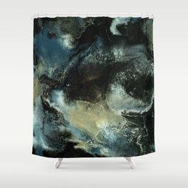 Nightstar Painting Shower Curtain