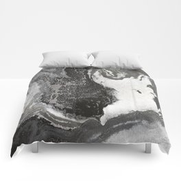 Acrylic marble painting Comforters